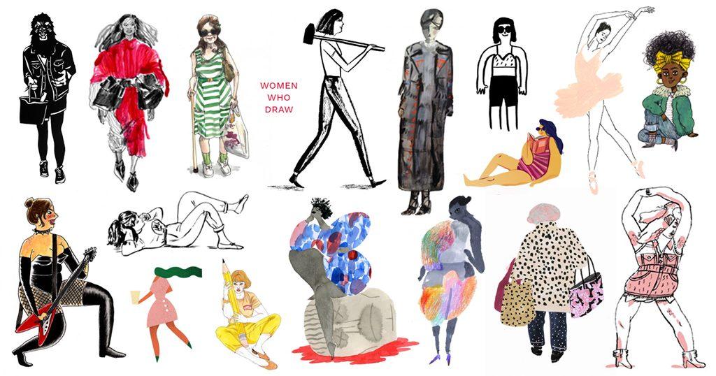 Mujeres ilustradoras