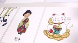 Dibujos Japón